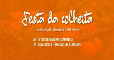 Comunidade Luterana realiza a Festa da Colheita