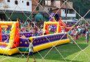 Crianças ganham festa na Vila dos Ipês, em Santa Maria de Marechal