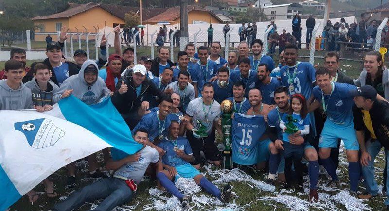 Time Santa Maria, campeão intermunicipal 2019