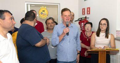 cacau lorenzoni inauguração UBS santa Rita