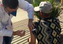 Secretaria de Saúde realiza a vacinação de moradores de rua em Marechal Floriano