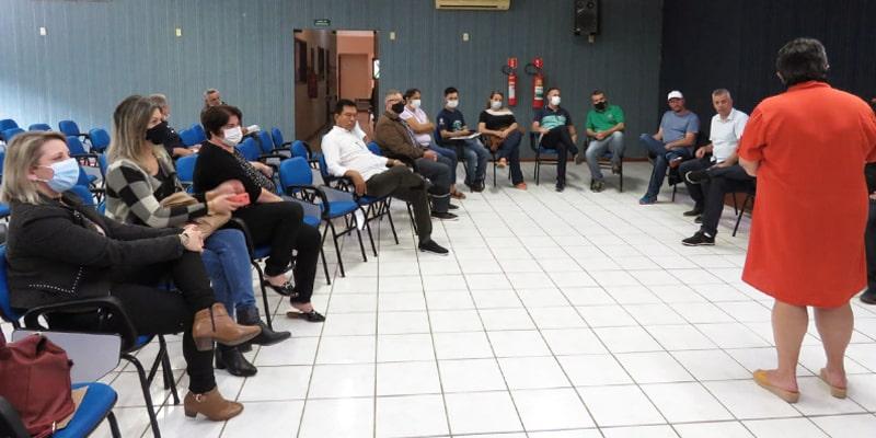 Marechal Floriano sedia reunião para resolver questões sobre a malha ferroviária que perpassa pelos municípios
