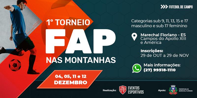 Marechal Floriano sediará a 1ª edição do torneio FAP nas montanhas
