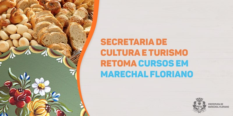 Secretaria de Cultura e Turismo oferta novos cursos em Marechal Floriano